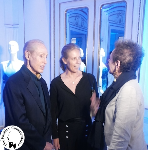 AltaRoma 2014 - Renato Balestra at the Be Blue Be Balestra event in his atelier