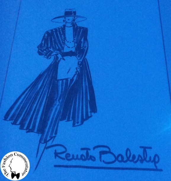 ALTAROMA 2014 - BE BLUE BE BALESTRA - The Sketches Gallery in the atelier