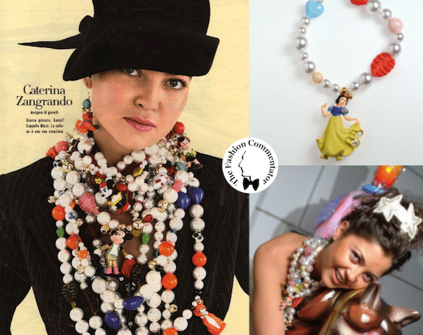 Caterina Zangrando and her first bijoux line