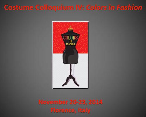 Costume Colloquium IV