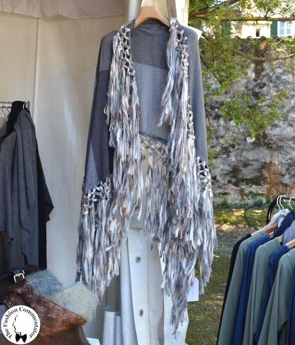 Fashion in Flair 2014 - Andrea Del Guasta - poncho