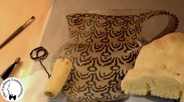 Fashion in Flair 2014 - Ceramica Tuttattaccato - tecnica con le spugne