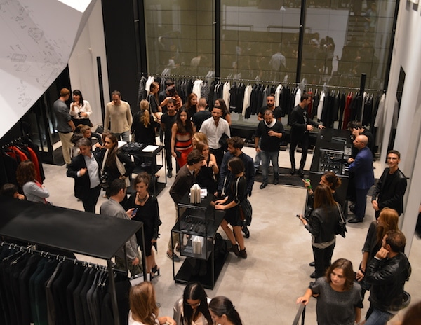 Opening new store Costume National