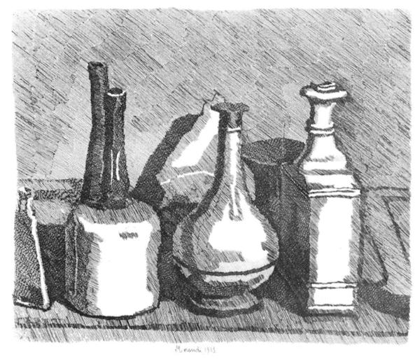Natura morta - Giorgio Morandi, anni 30