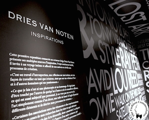 Dries Van Noten exhibition - Paris