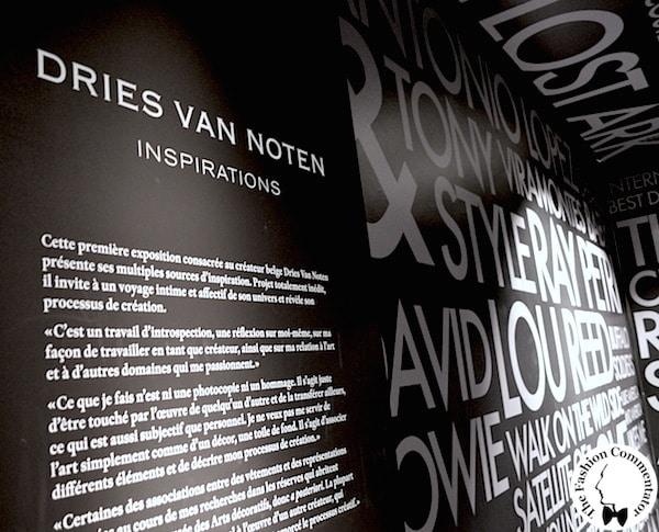 Dries Van Noten exhibition - Paris