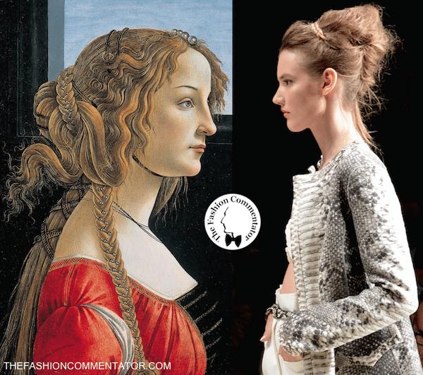 Ermanno Scervino - SS2015 - Renaissance portrait comparison