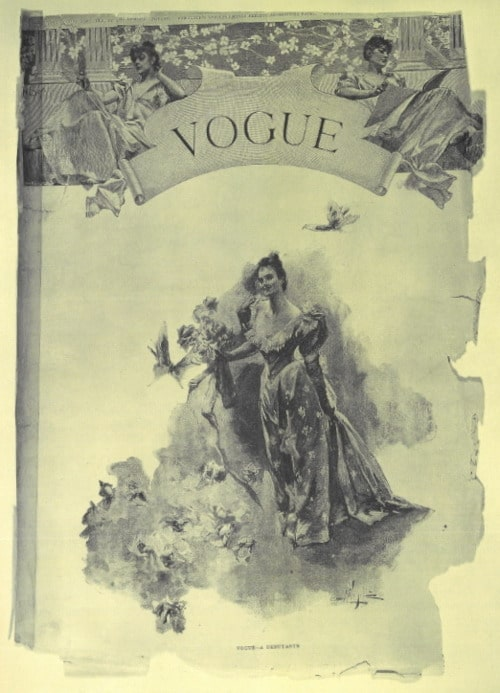 First issue of vogue - December 1892