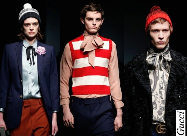 Gender Bending in Fashion - Gucci Men FW 2015