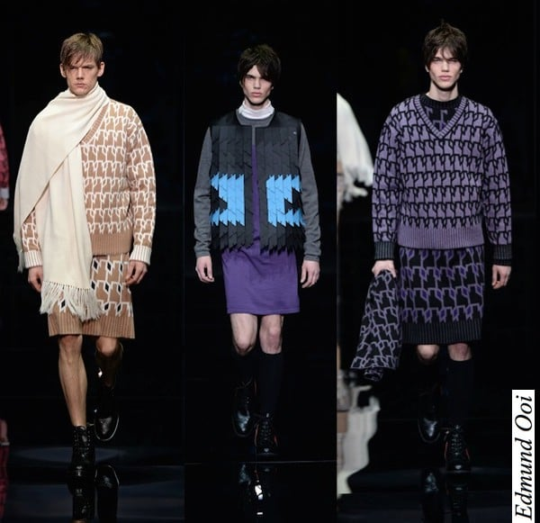 Gender bending in fashion - Edmund Ooi FW 2015