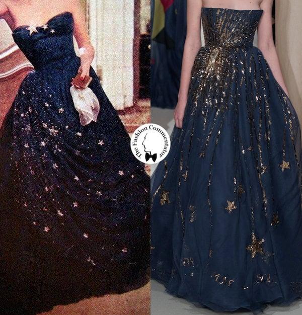 FashionLoop - Starry dress - Balmain Valentino