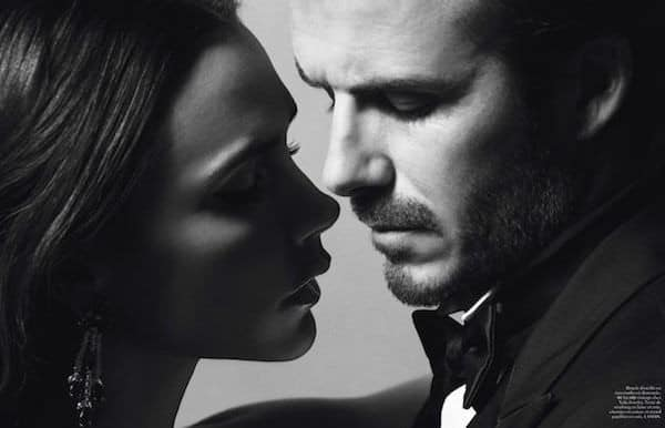 Inez van Lamsweerde and Vinoodh Matadin - Victoria and David Beckham, Vogue Paris
