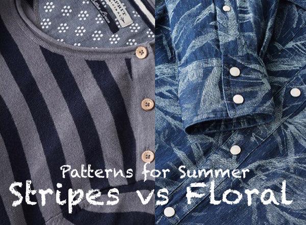 ESPRIT SS2015 - Patterns for Summer, Stripes vs floral