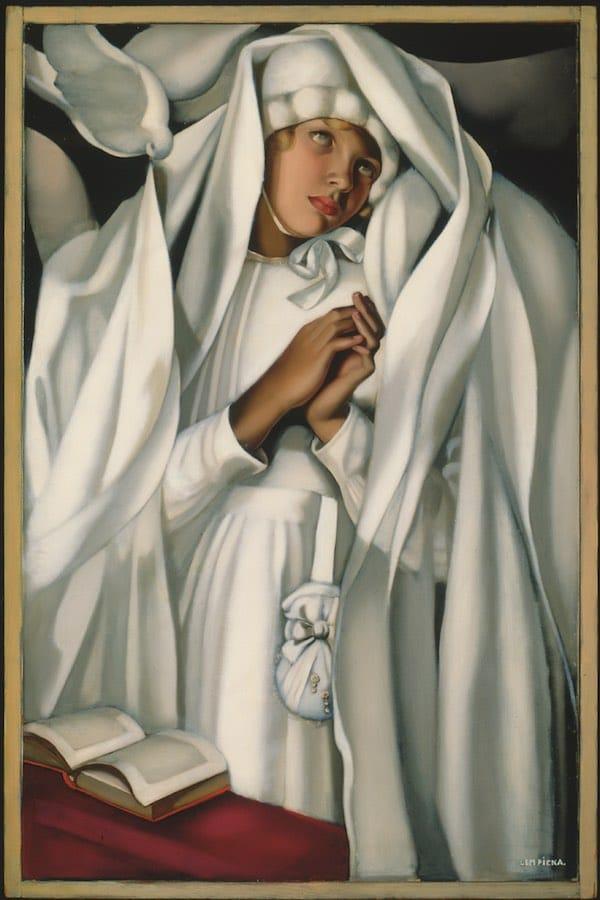 Tamara de Lempicka - Kizette Communiante, 1928