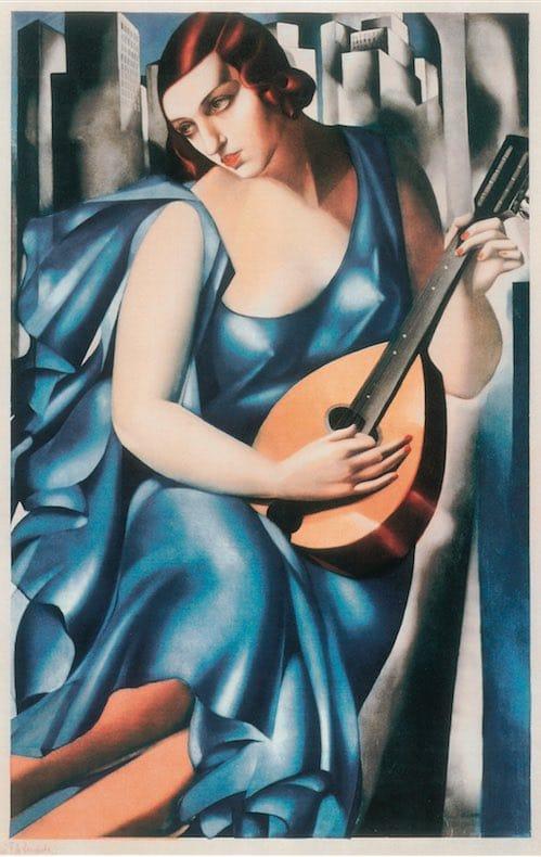 Tamara de Lempicka - La musicienne