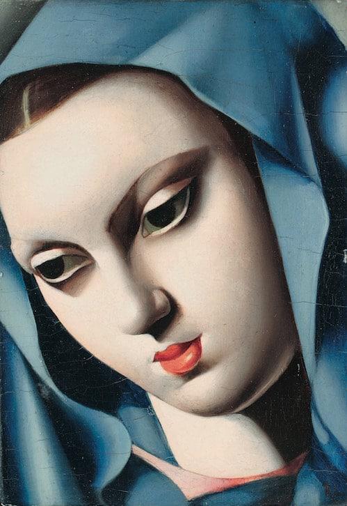 Tamara de Lempicka - La vierge bleue