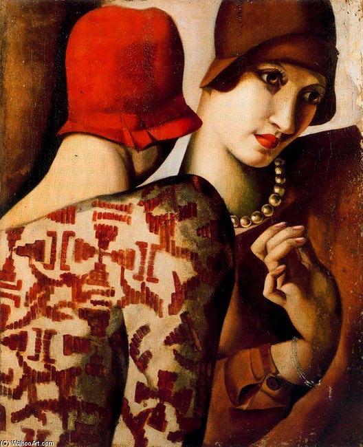 Tamara de Lempicka - Les Amies