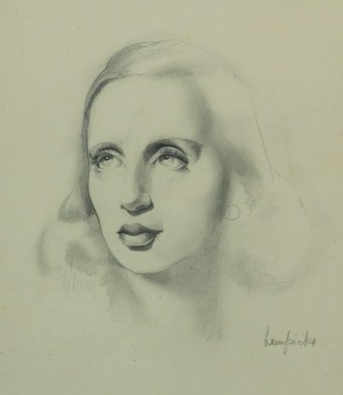 Tamara de Lempicka - Self portrait - 1936