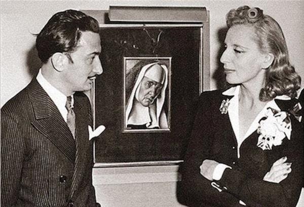 Tamara de Lempicka and Salvador Dalì - Nicholas W. Orloff - 18Apr1941