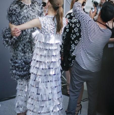 Backstage Giamabattista Valli Haute Couture fw 2015 Bruno Rinaldi