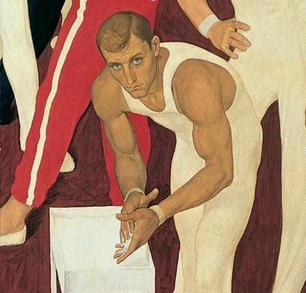 Dmitrij Ţilinskij – Ginnasti dell'URSS – 1964-65 – San Pietroburgo, Museo Statale Russo