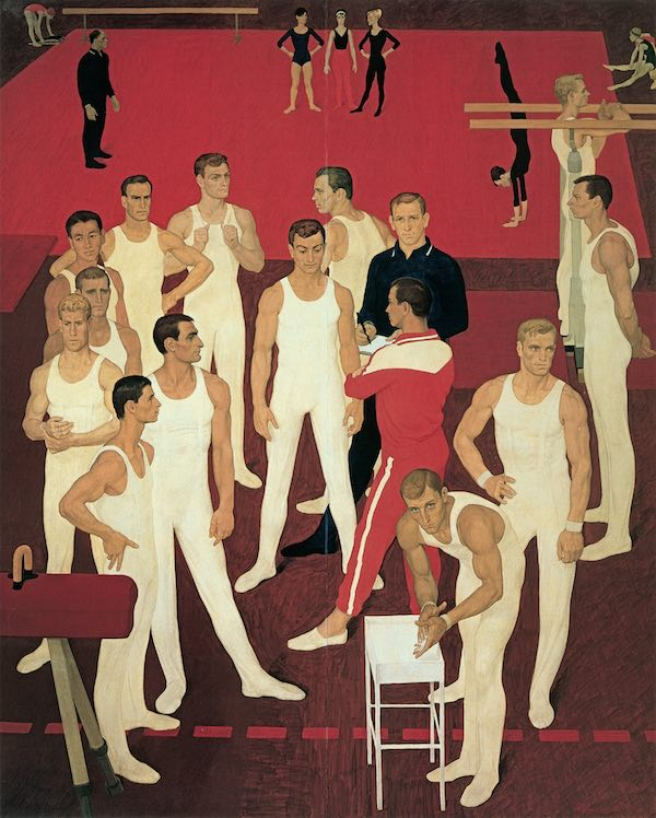 Moodboard Disciplina - Dmitrij Ţilinskij – Ginnasti dell'URSS – 1964-65 – San Pietroburgo, Museo Statale Russo