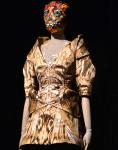 Savage Beauty London - room 6 - dress detail - credits Fashion Telegraph UK
