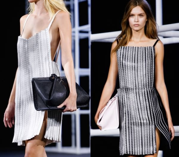 Lettering in fashion - Alexander Wang - fw2014