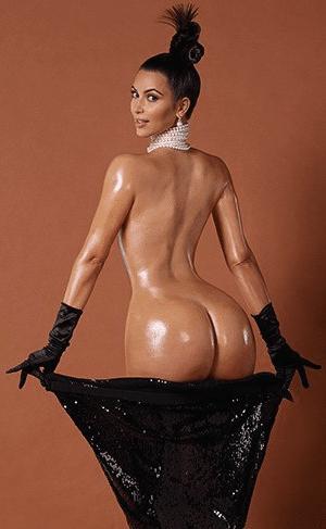 Kim Kardashian by Goude