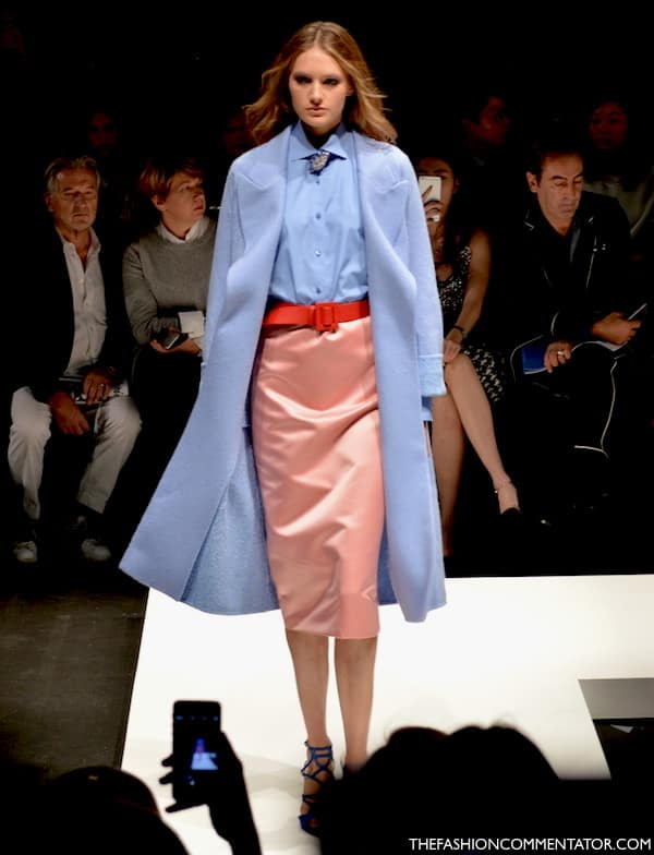 PANTONE Rose quartz and serenity - Ermanno Scervino SS 2016