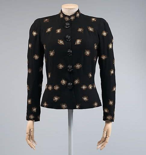 Elsa Schiaparelli, Zodiac collection, Evening jacket, The Metropolitan Museum of Art