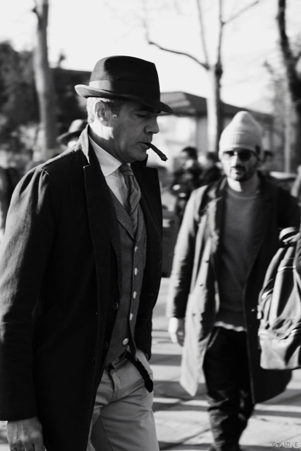 Pitti Uomo 89 street-style by Guaizine.com for The Fashion Commentator