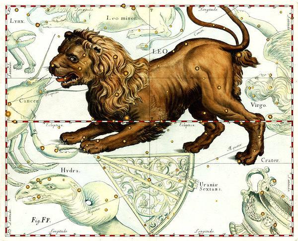 Maps of the sky - Leo