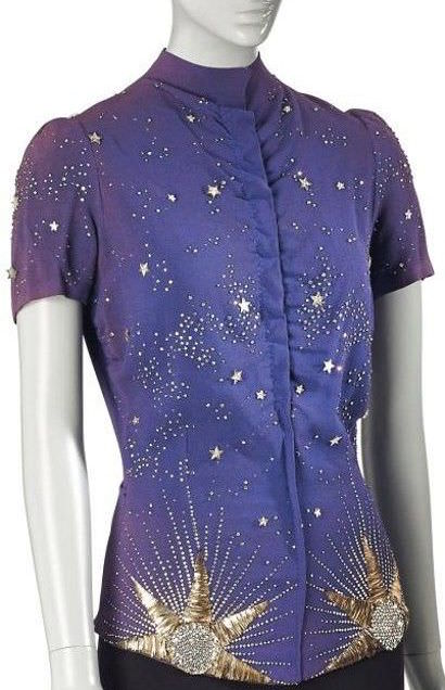 Elsa Schiaparelli (embroidery by Lesage) - Blouse, Zodiac collection, Fall Winter 1938