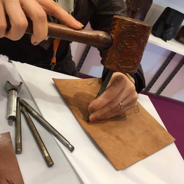 Mostra Internazionale dell Artigianato - Pooriya Leather
