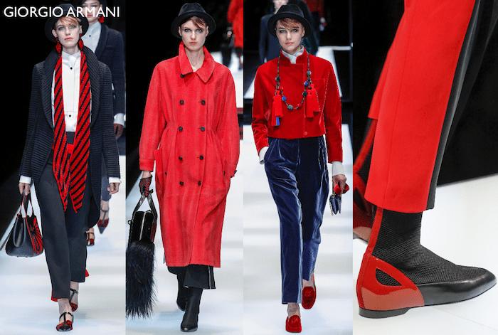 Sedotti dal rosso the fashion commentator for Giorgio armani architetto