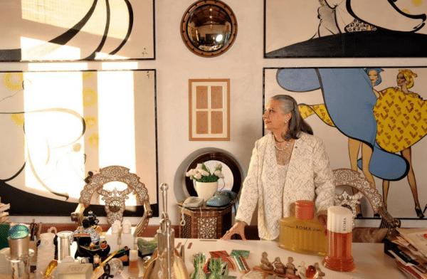Laura Biagiotti - Ph: Archivio Corriere della sera